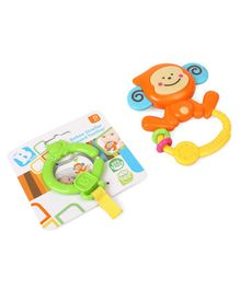 BKids Bebee Stroller Teether - Multicolour