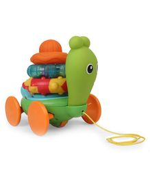 BKids Sensosnail Pull Along Toy - Green
