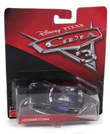 Disney Pixar Cars Jackson Storm Toy -  Black Blue