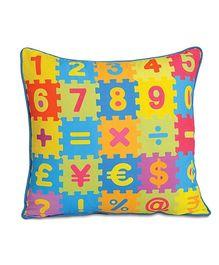 Swayam - Numbers Print Cushion Cover