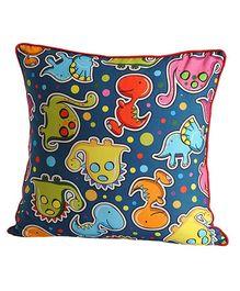 Swayam - Little Dinos Print Cushion Cover
