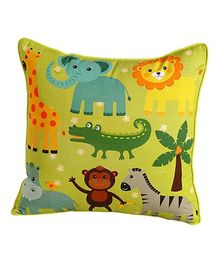 Swayam - Animal Print Cushion Cover