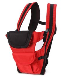 3 Way Baby Carrier - Red & Black