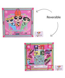 Power Puff Girls Reversible Carrom Board - Multicolor