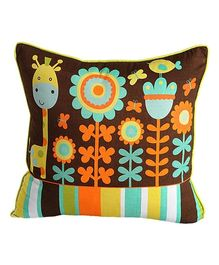 Swayam - Giraffe Print Cushion Cover