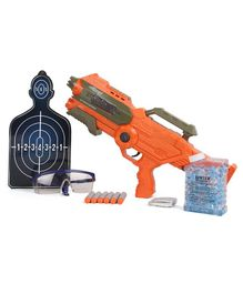 Bang 2 in 1 Water Blaster Stork Gun Toy - Orange
