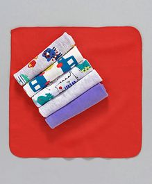 Ben Benny Wash Cloths Pack of 6 - Multi Colour