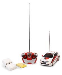 Marbles RC Honda Civic Typer Toy Car - White Red