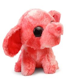 Wild Republic Sassy Scents Elephant Soft Toy Peach - 13.5 cm