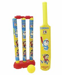 Doraemon My First Cricket Set (Color and Print May Vary)