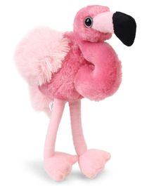 Wild Republic Mini Flamingo Soft Toy Pink - Height 25 cm