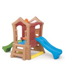 Step2 Play Up Double Slide Climber - Multicolour