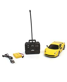 Mitashi Dash Street Masters 1 DS Remote Control Model Car - Yellow