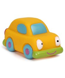Mee Mee Floating Squeezy Car Shaped Bath Toy - Yellow