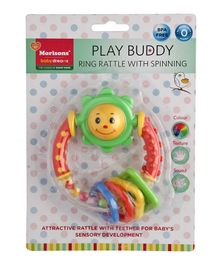 Morisons Baby Dreams Play Buddy Ring Rattle - Multicolour