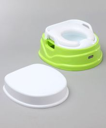 Babyhug Practico 4-in-1 Potty Chair - Green