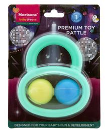 Morisons Baby Dreams Premium Rattle Toy (Color May Vary)