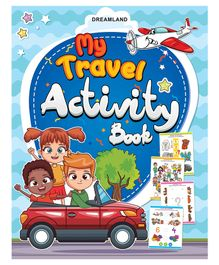My Travel Activity Book - English