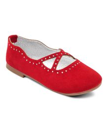 Kittens Shoes Belly - Red ( 4 to 4.5 Years)