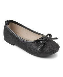 Kittens Shoes Shimmer Ballerinas - Black