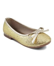 Kittens Shoes Shimmer Ballerinas - Golden