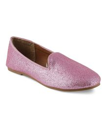 Kittens Shoes Shimmer Loafers - Pink