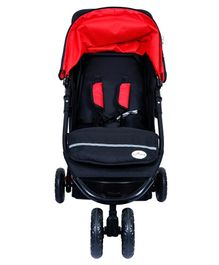 1st Step Jogger Stroller - Black Red