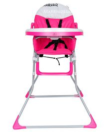 1st Step High Chair - Pink Grey