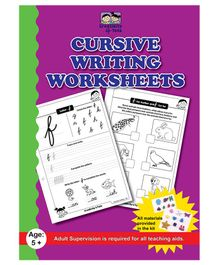 Cursive Writing Worksheets - English