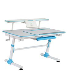 Kidomate Height Adjustable Study Table - Blue