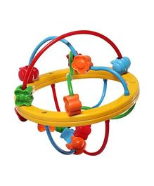 Fisher Price Bead Ball - Yellow And Multicolour