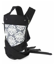 Infantino Sash Wrap & Tie Baby Carrier - Black