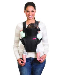 Infantino Swift Baby Carrier With Pocket - Black