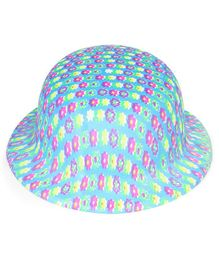 B Vishal Plastic Party Hat (Color & Print May Vary)