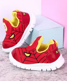 Kidlingss American Style Slip On Casual Shoes - Red
