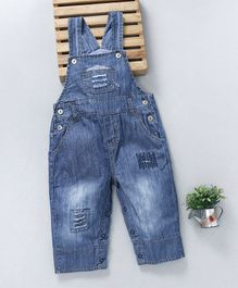 Baby Pep Rugged Denim Dungaree - Blue