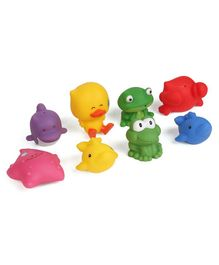 Bkids Sea Chums Animal Bath Toys Pack of 8 - Multicolour