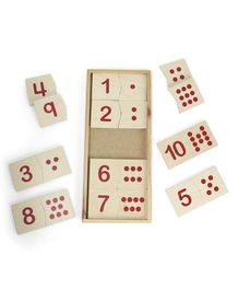 Alpaks Dot Pairing Set - Beige & Red