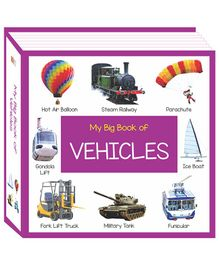 My Big Book of Vehicles - English