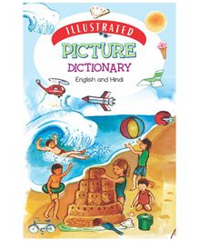 Picture Dictionary Book - English & Hindi