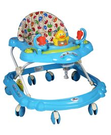 Sunbaby Musical Walker Frog Print - Blue