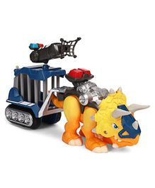 Hasbro Chomp Squad Officer Lockup Action Figure With Detachable Cage - Multicolour