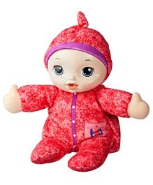 Baby Alive Plush Baby Doll Red - Height 27.5 cm