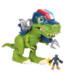 Hasbro Chomp Squad Troopersaurus Figure With Removable Back Gear Green - Height 35 cm