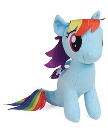 My Little Pony Rainbow Dash Sea Pony Plush Soft Toy Multicolor - 25 cm