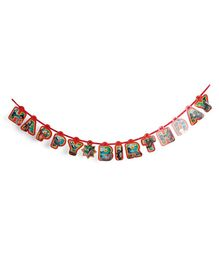 Jungle Book Birthday Party Banner - Multicolour
