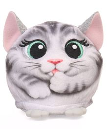 Hasbro Furreal Cuties Kitty Battery Operated Soft Toy- Grey White