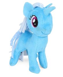 My Little Pony Princess Trixie Lulamoon Soft Toy Blue - Height 10.5 cm