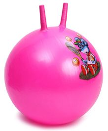 Awals Hopping Ball - Pink (Prints May Vary)