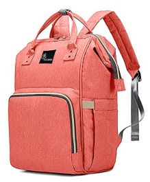 R for Rabbit Caramello Backpack Style Diaper Bag - Pink